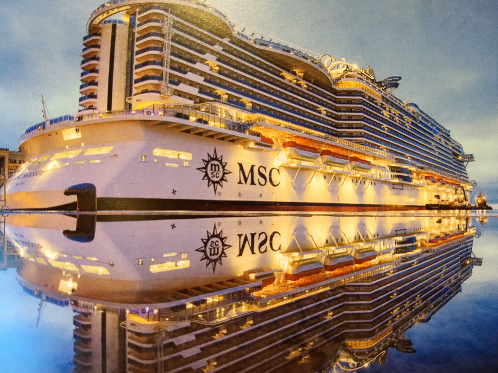 First Off There Is No Getting Away From The Size Of 323 Meters Long 72 High MSC Seaside She Will Carry More Than 5000 Guests In Luxury